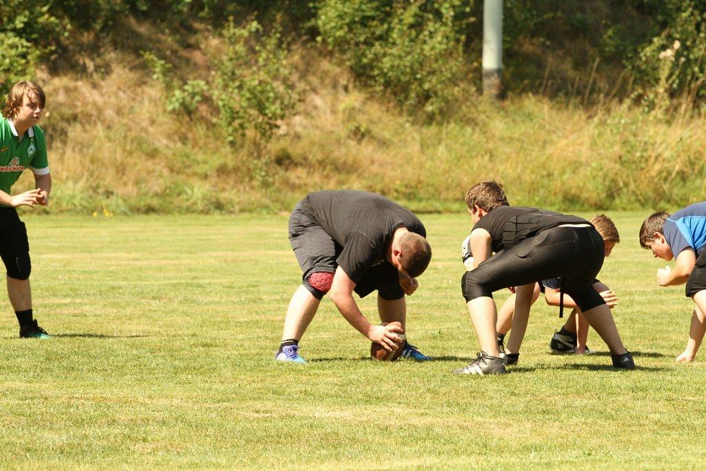 2015-08-08 Training der Hersfeld Raiders Jugend